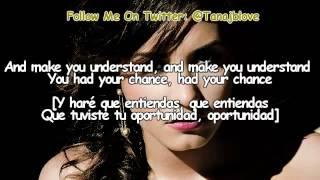 Demi Lovato Ft. Cher Lloyd - Really Don't Care [Lyrics - Traducida Al Español][DEMI]