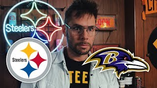 Dad Reacts to Steelers vs Ravens (Week 14)