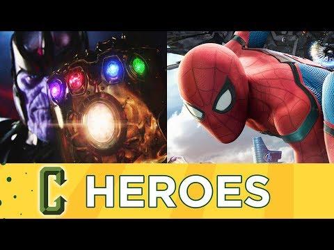 Avengers: Infinity War Trailer, Spider-Man: Homecoming Spoiler Review - Collider Heroes