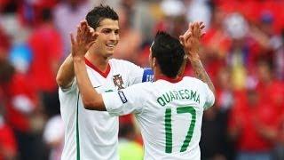 Cristiano Ronaldo vs Ricardo Quaresma _Portuguese Legends_