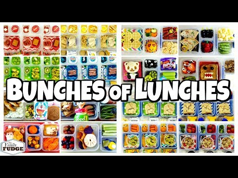 Best Of Bunches Of Lunches 2018 🍎 The Family Fudge