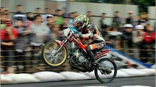 KESALAHAN START Eko Kodok Ninja Tune Up Drag Bike 2017