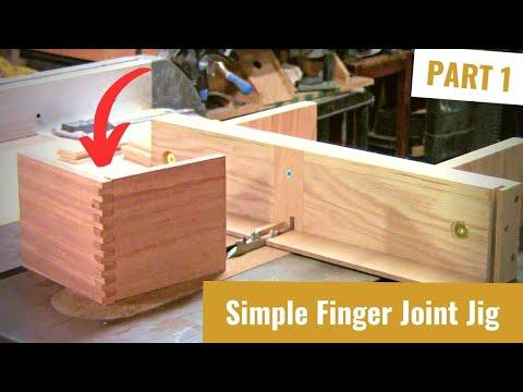 Build a Finger Joint Jig Part 1