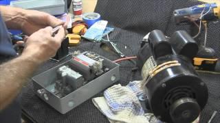 Change a 110 volt-220 volt coil on a furnas size 1 Motor Starter