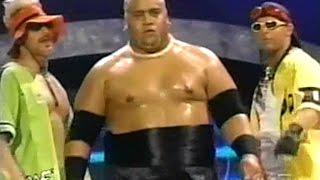 Triple H (Stephanie) VS. Rikishi Phatu (Rock) (Too Cool) - WWF RAW is WAR 03/06/2000
