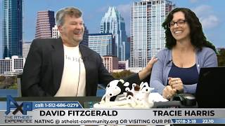 Atheist Experience 22.10 with Tracie Harris and David Fitzgerald