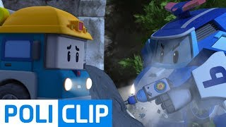 Could you break the cement that locked Micky? | Robocar Poli Rescue Clips