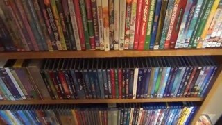 My Entire Movie Collection - May 2016 Update with Blu-Ray, DVD, VHS, etc.