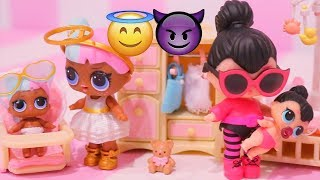 LOL Surprise Dolls Blind Bags Lil Sisters Full Case w/ ULTRA RARE Lil Sugar Lil Spice Baby Doll Play