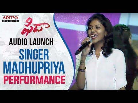 Xxx Mp4 Singer Madhu Priya Vachinde Song Performance At Fidaa Audio Launch Varun Tej Sai Pallavi 3gp Sex