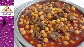 Etli  Nohut Yemeği Tarifi-Pratik Yemek Tarifleri