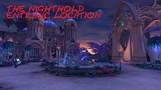 NightHold Raid Entrance Location