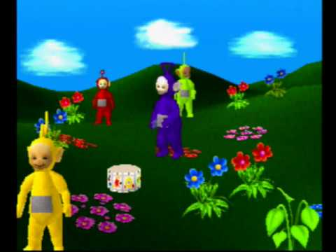 Play With The Teletubbies PS1 Version Walkthrough