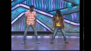 prabu deva in zee tv  dance