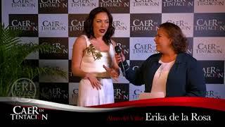 Erika de la Rosa en la presentación de