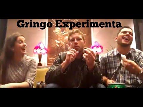 O gringo experimentou doces brasileiros {Tim
