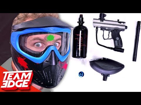 Assemble The Paintball Gun Before You Get Hit