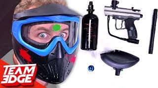 Assemble The Paintball Gun Before You Get Hit!!