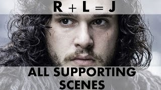 R+L=J: Who is Jon's Mother - ALL SHOW SCENES COMPILATION - GAME OF THRONES