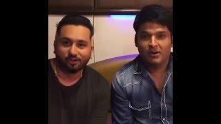 Yo Yo Honey Singh with Kapil Sharma