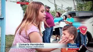 Escuela José F Díaz Directora suspendida Lourdes Betancourt