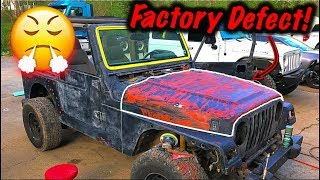 Theft Recovery Jeep Paint Color Change?!