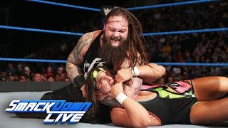 American Alpha vs. The Wyatt Family - SmackDown Tag Team Title Match: SmackDown LIVE, Jan. 10, 2017