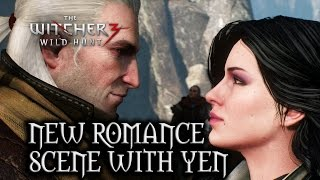 The Witcher 3: Wild Hunt - New romance scene with Yen in