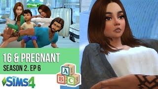 16 & PREGNANT | 5 Years Later | SEASON 2. Episode 6 l A Sims 4 Series