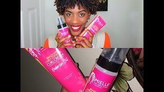 Wash N Go Series Part 2: Mielle Organics Brazilian Curly Cocktail Cream and Mousse
