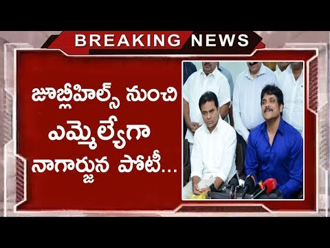 Will Nagarjuna enters Into Politics? | Nagarjuna Relationship With Minister KTR | Tollywood Nagar