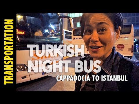 Taking the Turkish Night Bus & getting lost