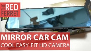 Rearview Mirror HD Car Cam - cool budget car dashcam in a mirror [Review]
