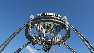 Walt Disney World Magic Kingdom Full Walking Tour Of Tomorrowland!!!