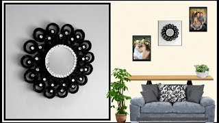 DIY Wall Decoration idea ||Wall Decor using Newspaper