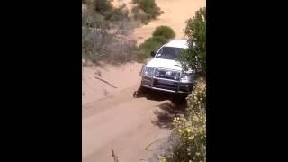 Mitsubishi Colt 2800tdi 4x4 fun in the dunes