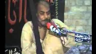 Zakir Syed Sabir Hussain Shah of baehill ydagar majlis at kachhi bhakkar