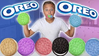 Rare Limited Edition Oreo Cookie Flavors Taste Test Challenge!!