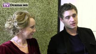 The White Queen's Philippa Gregory & Max Irons