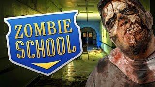 ZOMBIE SCHOOL ★ Call of Duty Zombies Mod (Zombie Games)