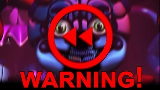 Five Nights at Freddy's: SISTER LOCATION TRAILER BACKWARDS | HIDDEN BABY MESSAGE!