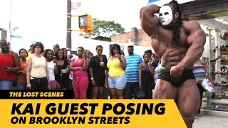 Kai Guest Posing on Brooklyn Streets | Generation Iron