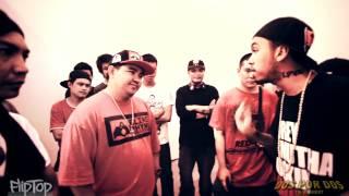 FlipTop - Crazymix/Bassilyo vs Loonie/Abra @ Dos Por Dos Tournament
