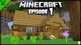 The Minecraft Journey Begins! | Python's World (Minecraft Survival Let's Play) | Episode 1