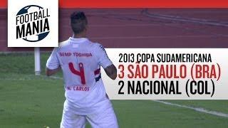 São Paulo (BRA) 3x2 Atlético Nacional (COL) - Quarterfinals - Leg 1 - 2013 Copa Sudamericana