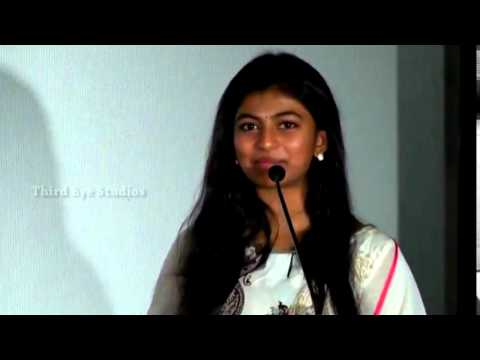 Kayal Anandhi Speaks about Kayal Movie Experience  Kayal Press Meet &  Launch