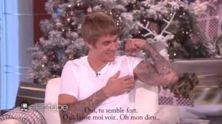 Justin Bieber fait une annonce au Ellen Show (VOSTFR) 2016