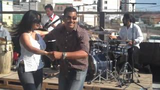 Hot Mexican Couple Salsa Dancing in Tijuana
