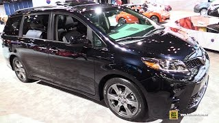 2018 Toyota Sienna - Exterior and Interior Walkaround - Debut at 2017 New York Auto Show