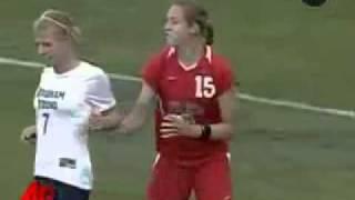 girls playing soccer hair pull violent games fun.3gp